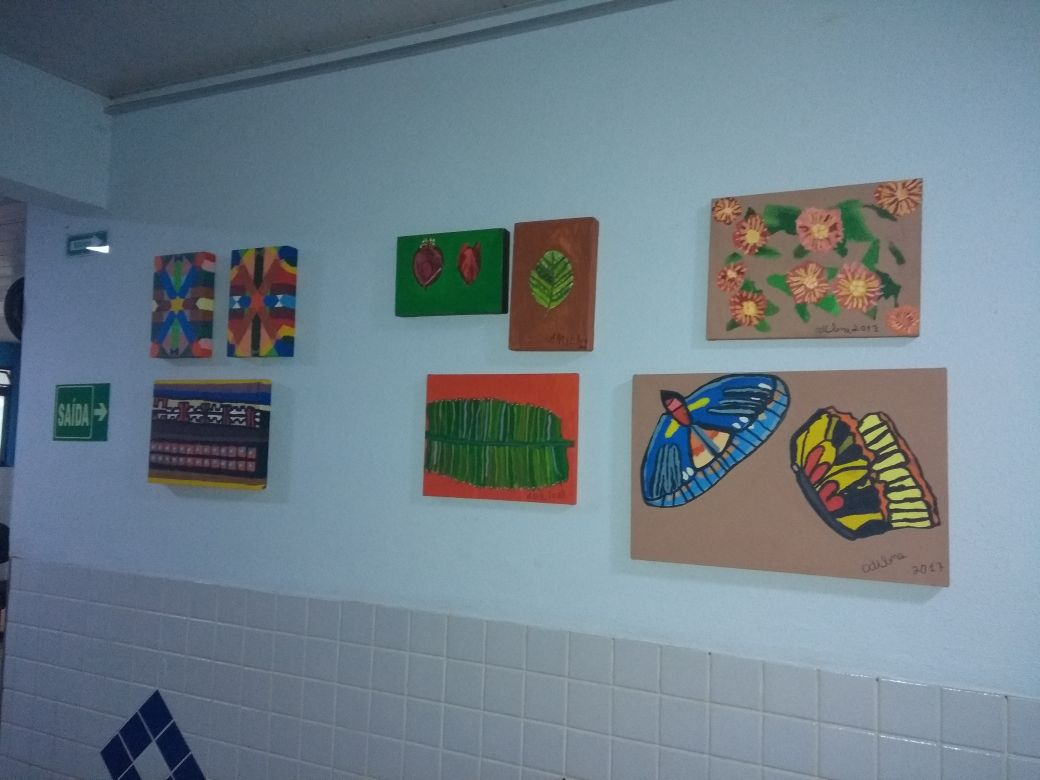 Oficina de Pintura em Tela